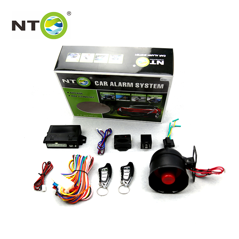 NTO Universal auto Vehicle Central Door Burglar One Way Car Alarm