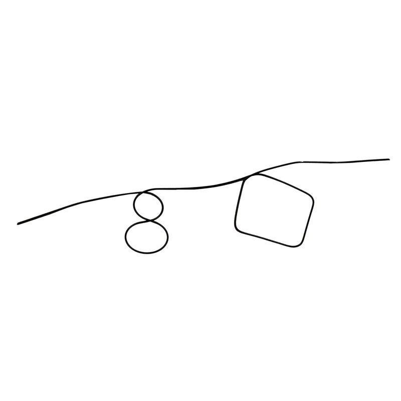 ЛЕГКО Волшебные Нитинол Форма мета памяти я Провода своих Прогнозирование номер бриллиантами профессиональные маг фокусы 1 шт. ...