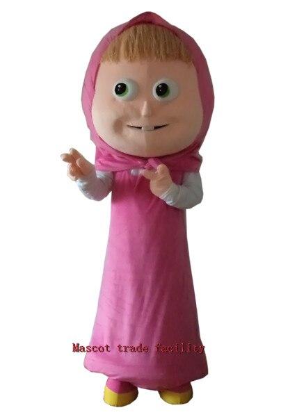 Hot Sale  Masha Mascot Costume Cartoon Character Mascotte Free Shipping
