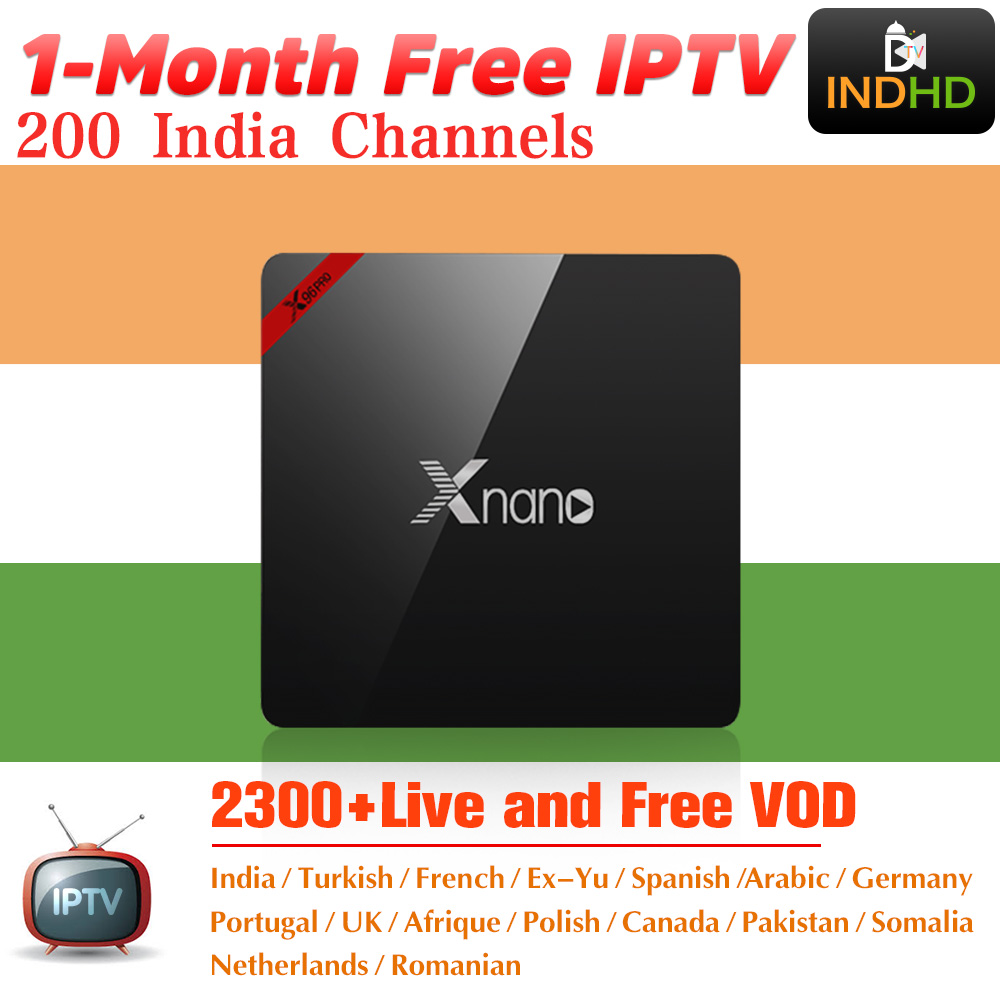India Italy IPTV Xnano 1 month Free IP TV Canada Arabic IPTV Subscription Android TV Box Africa Turkey IPTV Indian Italian IP TV-in Set-top Boxes from Consumer Electronics