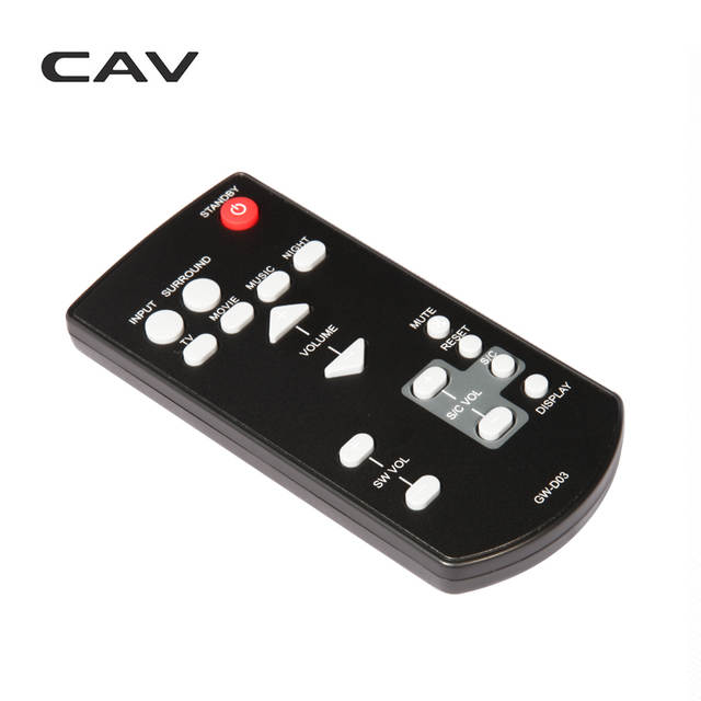 US $15 0  CAV TM Series Soundbar Remote Control-in Remote Controls from  Consumer Electronics on Aliexpress com   Alibaba Group