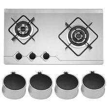 4 шт металлические универсальные Серебристые ручки адаптеры