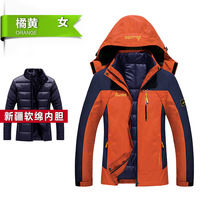 2017 Women Winter Warm Inner Fleece Waterproof Softshell Jackets Outdoor Sport Brand Coats Hiking Camping Trekking