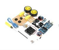 DIY smart car kit L298N 2WD Ultrasonic Smart Tracking Moteur Robot Car Kit For Arduino