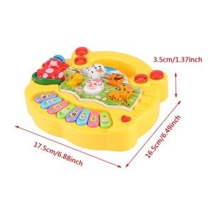Image 4 - 2020 sıcak satış enstrüman oyuncak bebek çocuk hayvan çiftliği piyano gelişim müzik için eğitici oyuncaklar çocuk hediye