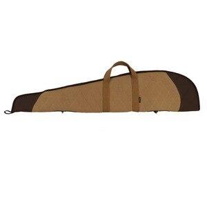 Image 3 - Tourbon accesorios de caza Rifle táctico Slip Shooting funda de pistola de lona acolchada arma de protección bolsas de transporte 119CM