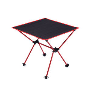 Image 1 - Portable Lightweight Outdoors Table For Camping Table Aluminium Alloy Picnic BBQ Folding Tables Outdoor Tavel Portable Tables