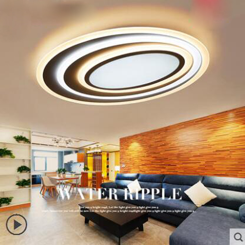 Living room lamp simple modern atmosphere home led ceiling lamp creative personality round lamp study bedroom lighting led lamps study lamp led ceiling lamp simple modern fashion personality round living room dining room bedroom creative slim lamps led lamp