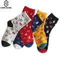 [COSPLACOOL] Рождественские носки краски harajuku носки женщин теплые mujer женщины носки meias calcetines chaussette femme sokken чулочно-носочные изделия