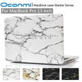 Marble hard case for Apple Macbook Pro 13 inch fashion funda case for Macbook Pro 13 with Retina 2016 New A1278 A1708 A1706