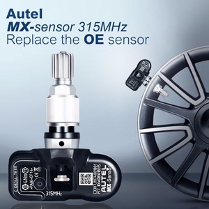 Image 2 - Autel 4PCS 433/315MHZ TPMS 센서 진단 도구 MX 센서 tpms는 OBD2 Scannar 용 타이어 압력 프로그래밍을 지원합니다