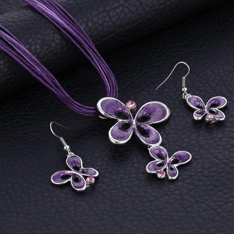 MINHIN Purple Enamel...