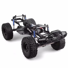 1:10 RC Crawler 313mm 12.3 Wheelbase Chassis Frame Kit Assembled for 1/10 SCX10 II 90046 90047