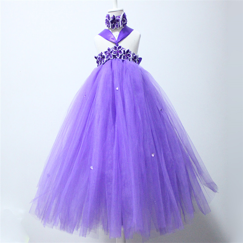 Cinderella Girl Party Dress with Shining Sash Tulle Straps Children Girls Tutu Dresses for Children robe de soiree longue soiree entertaining with style