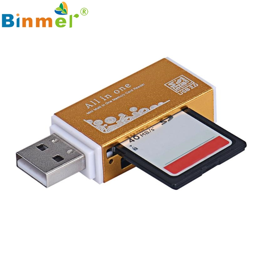 Del USB 2 0 All In 1 Multi font b Memory b font font b Card