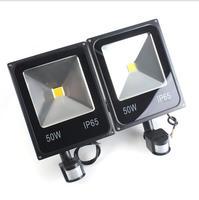 LED Flood Light PIR Motion Sensor Induction Sense 10W 20W 30W 50W 70W 85 265V