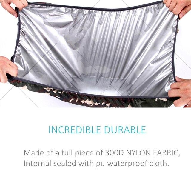 AiiaBestProducts Rain cover backpack 20L 30L 35L 40L 50L 60L Waterproof 4