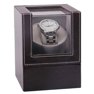 GENBOLI Automatic Mechanical Watch Winder Brown Watch Box