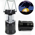 2PC/set LED Portable Collapsible LED Outdoor Camping Lantern Flashlights For Hiking Camping Emergencies Hurricanes Outages