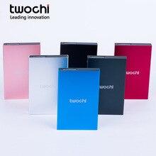 TWOCHI 2.5″ HDD 60GB 80GB 120GB 160GB 250GB 320GB 500GB 1TB 2TB USB2.0 External Hard Drive Hard Disk HD for Desktop Laptop