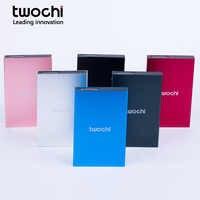 TWOCHI HDD 2.5 External Hard Drive 80G/120GB/320gb/500G/1tb/2tb Hard Disk hd externo disco duro externo Hard Drive USB2.0