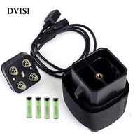 Waterproof Powerful 8.4V 6800mAh Lithium ion Battery pack for Bicycle Bike with PVC Case 4pcs 18650 Rechargeable batteries