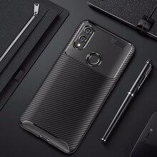 Cho Danh Dự 10 Lite Ốp Lưng Carbon Sợi 360 Chống Sốc Ốp Lưng Điện Thoại Silicon trên cho Huawei P Smart 2019 honor10 Lite Bao Ốp Lưng