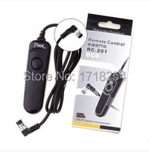 Pixel de rc-201 obturador de la cámara de control remoto con cable para nikon d800 D810 D1 D2 D3 D4 D800E D700 D300 D300S D200 D100