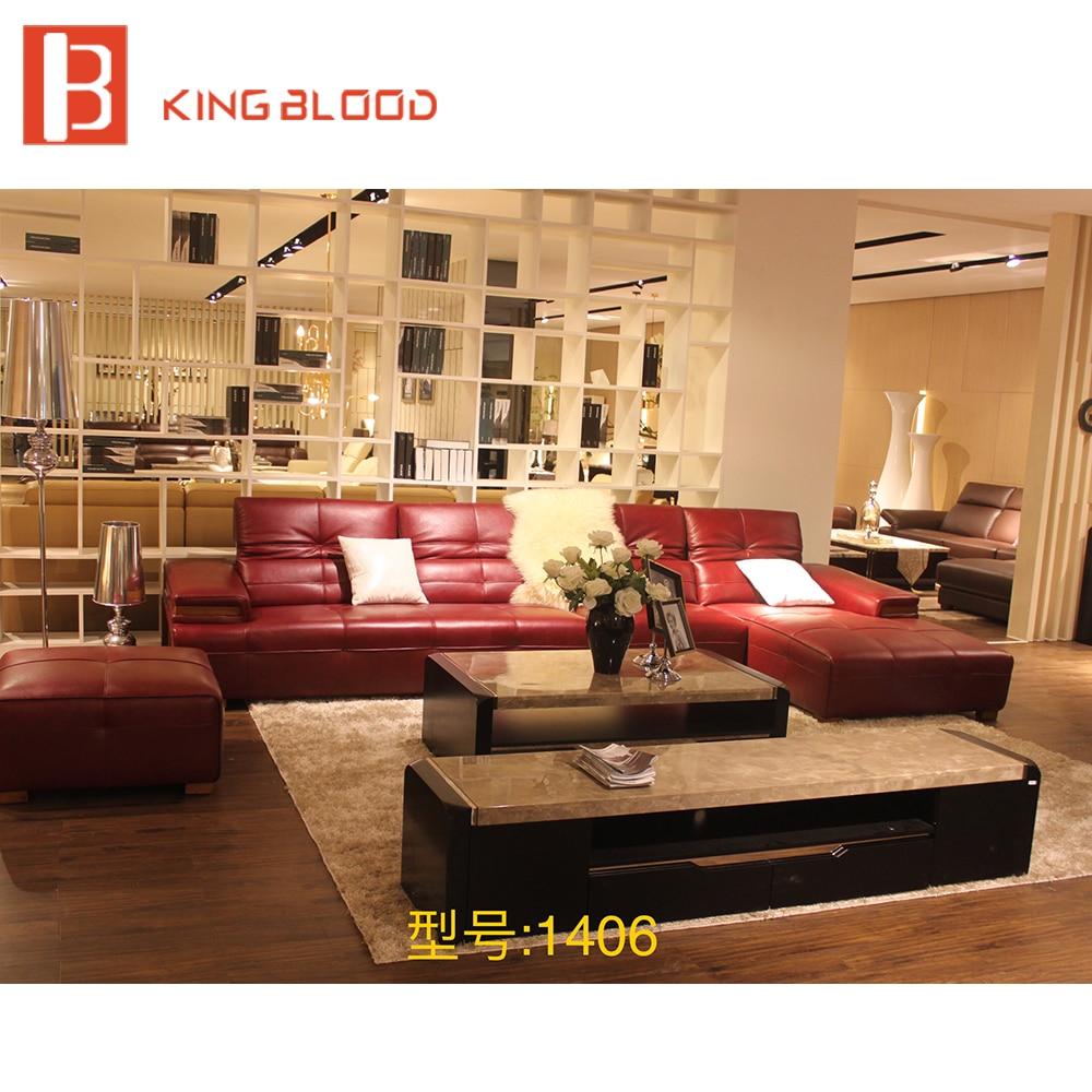 latest cheap house chaise living room sofa design leather corner sofa set