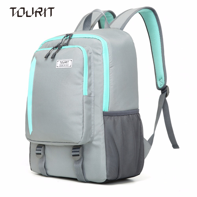 Tourit Lightweight Cooler Backpack 28 Cans With Insulated Bag For Picnics Sports Hiking