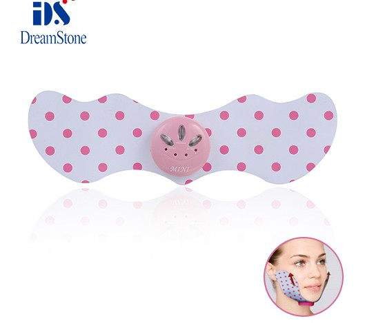 Hot New High Quality Beauty care product Double Thin Reduce Chin Wrinkles Massage Massager Device Slim Patch Free Shipping new product high quality grosgrain