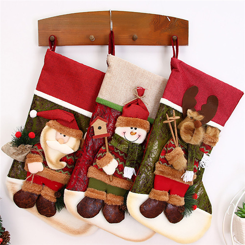 Christmas Gifts Candy Beads Christmas Santa Claus Snowman