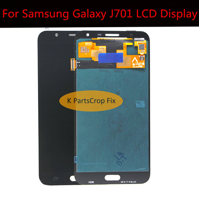 US $41 8  amoled 100% tested for samsung galaxy J7 neo lcd J701F J701M  J701MT j701 lcd display with touch screen digitizer Assembly-in Mobile  Phone