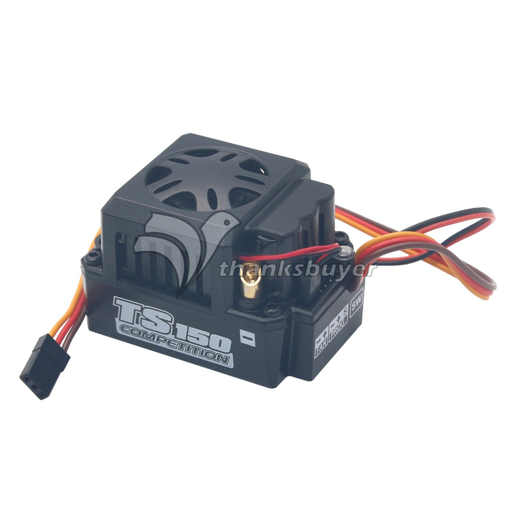 ESC Brushless SKYRC Toro TS150A Sensored Motor ESC for 1:8 Scale RC Truck Buggy Truggy original skyrc toro ts 150a brushless sensor sensorless motor esc for 1 8 rc buggy truck monster truggy free s radio control