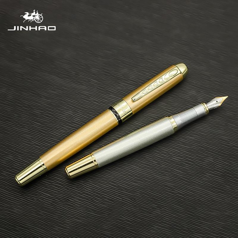 Jinhao250 stylos plume stylo encre de luxe Dolma Kalem stylos calligraphie pour lécole Mon Blanc stylo cadeau calligraphie Mont Blanco