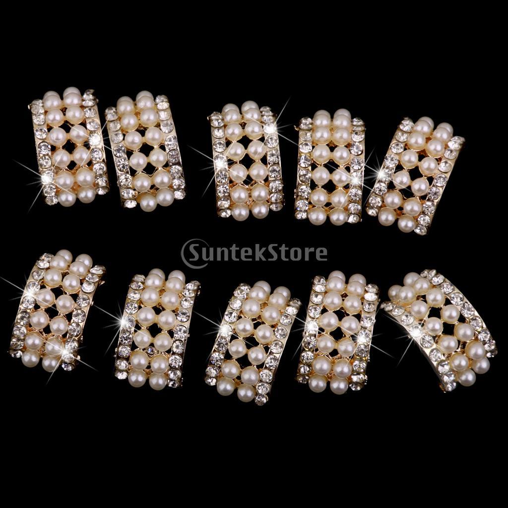 10 Ассорти золото пуговица с прозрачными стразами брошь букет жемчуг кристалл