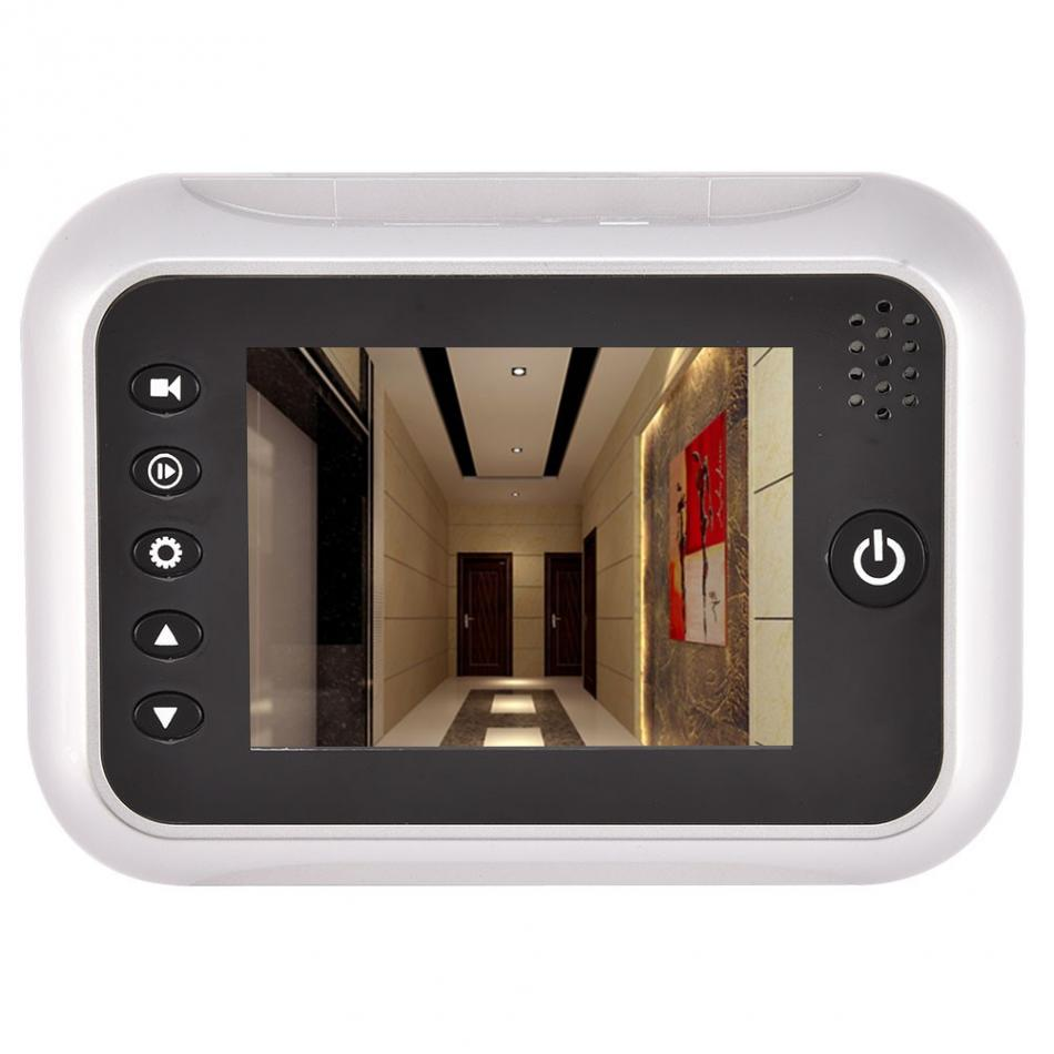 3.5 inch LCD Screen HD Camera Visual Video Doorbell IR Night Vision Digital Peephole Viewer danmini 3 0 hd lcd viewer digital peephole viewer camera 2 0mp professional color screen video eye video recorder night vision