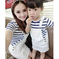 Fashion Summer Family Matching Outfits Girls&Mother Clothing Sets Children T-Shirt+Skirt 2PCS Kids Hight Quality Clothes