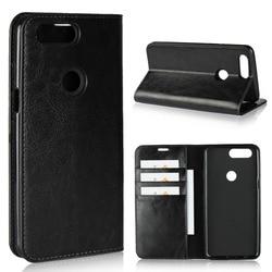 На Алиэкспресс купить чехол для смартфона luxury genuine leather wallet flip case cover for oneplus 5 / 5t