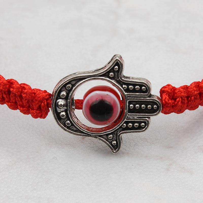 käsitööna valmistatud akrüülist käevõru punane kuri silm - Mood ehteid - Foto 3