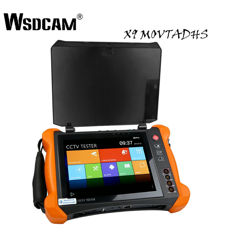 8 Inch IP Camera Tester Security CCTV Tester Monitor with SDI/TVI/AHD/CVI/Multimeter/TDR/OPM/VFL/POE/4K/HDMI In&Out X9-MOVTADHS borussia dortmund vfl wolfsburg