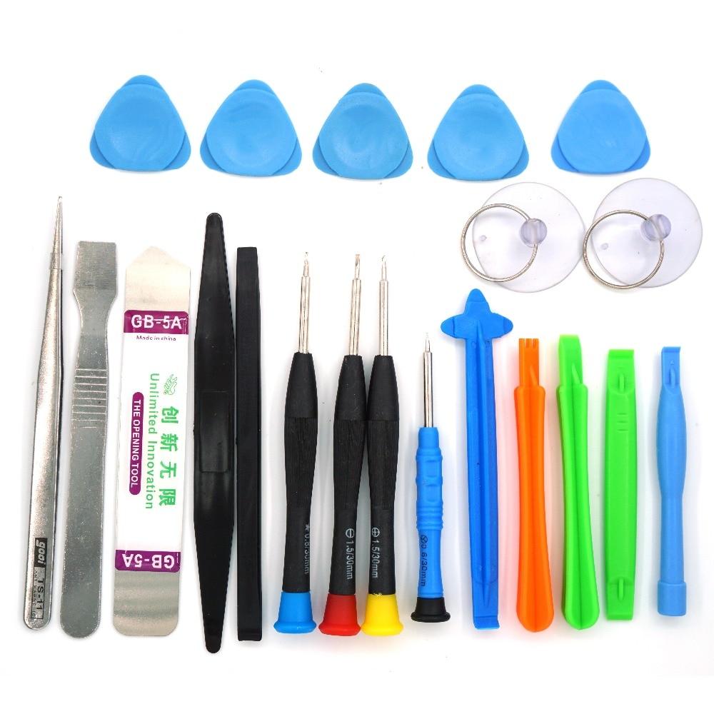 21 in 1 Mobile Phone Repair Tools Kit Spudger Pry Opening Tool Screwdriver Set for iPhone X 8 7 6S 6 Plus Hand Tools Set