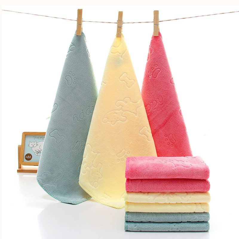 Square Baby Towel Baby Bath Towel Feeding Bath Bathing Face Washing Cleaning Handkerchief Beach Kids Hand Towel