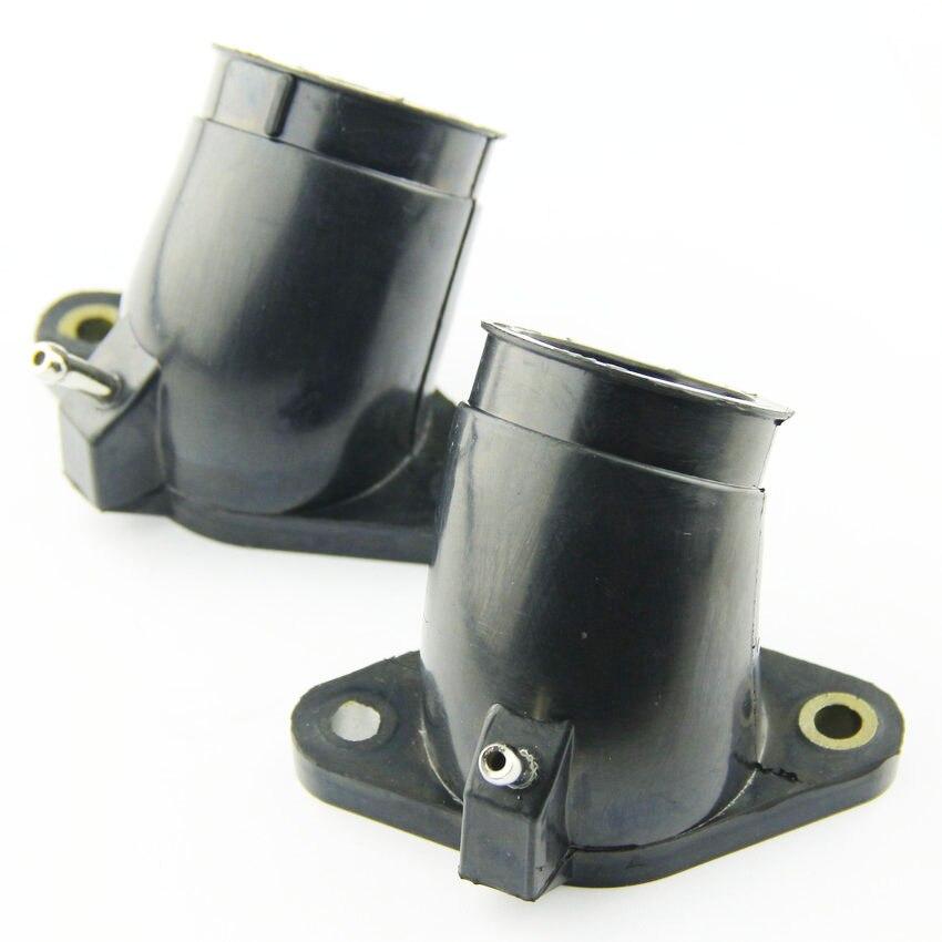 US $14 22 |For Yamaha XVS650 V STAR 650 XVS650A XVS650AT Motorcycle  CARBURETOR INTAKE PIPE adapter MANIFOLD carburetor Interface rubber gum-in