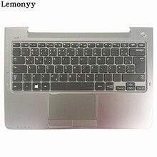 BR For Samsung NP530U3C NP530U3B NP535U3C NP540U3 NP532U3C NP532U3A Brazil laptop keyboard gray palmrest cover BA75-04283A