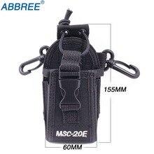 ABBREE MSC-20E нейлоновый мешок сумка чехол для BaoFeng UV-5R UV-82 UV-XR UV-9RPlus YAESU TYT WOUXUN Mototrola Walkie Talkie радио