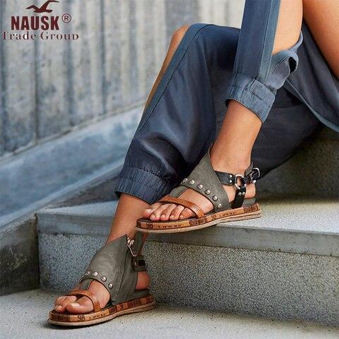 Platform Sandals Espadrilles Lace-Up White Wedge Open-Toe Women Summer Casual
