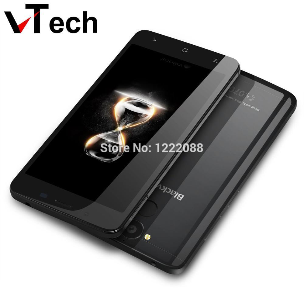 Origine Blackview P2 Android 6.0 Cellulaire Téléphone MT6750T Octa Core 4 GB RAM 64 GB ROM Smartphone 5.5 pouce 4G LTE 6000 mAh Mobile Téléphone