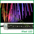 RGB LED vertical tube crystal meteor light