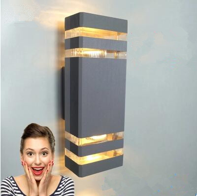 10pcs/lot 10w modern outdoor wall lighting / outdoor wall lamp / outdoor lighting wall lamps/Outdoor sconces
